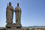 Szent István and Gisella Monument