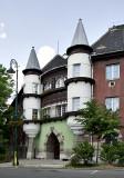 Turreted apartment