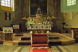 Matyó altar, ready for a wedding