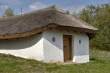 Thatch house, Northern Hungarian Village