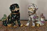 Lion dogs (shisa)