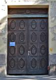Traditional wooden doors of Sárospatak