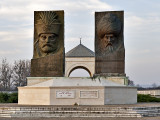 Monument to Zrinyi Miklós and Suleiman the Magnificent