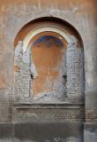 Kiszombor, castle detail