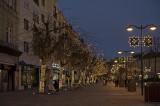 Festive shopping area on Fő tér