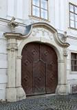 Elaborate entry