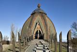Yurt structure by Csete György