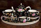 Custom made tea service (Chinoiserie design)