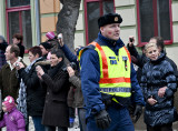 Policeman falls victim to Busó carnival