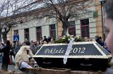 'Carnival 2012' (Croatian) coffin