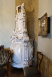 Ornate stove