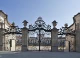 Esterházy Palace, front gate