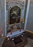 Altar at an angle