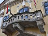 City Hall, a most unusual balcony