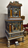 Christian Museum: stove (1570), Salzburg