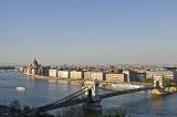 Chain Bridge from Buda Castle