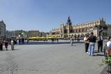 Market Square, the heart of Kraków
