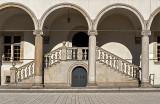 Wawel Royal Castle, courtyard (16th century)