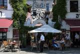 Jewish Quarter, café on the square