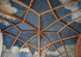 Collegium Maius, Libraria ceiling