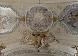 St. Anne's, ceiling crucifix