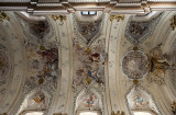 St. Anne's, ceiling frescoes