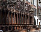 Dominican Church, choir stalls