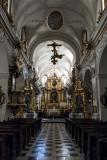 St. Florian's Church, main aisle