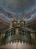 St. Adalbert's, dome, organ