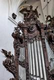 Oliwa Cathedral, organ detail