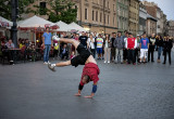 Evening entertainment in Market Square