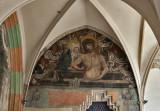 Church of St. Catherine, cloister fresco
