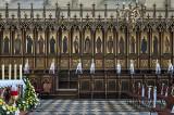 Church of St. Catherine, choir stalls