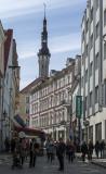 Busy streets of Tallinn
