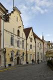 Quiet streets of Tallinn