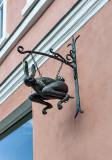 Whimsical signs of Tallinn