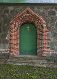 Pühitsa Convent, the secret door