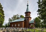 Pühitsa Russian Orthodox Convent, cemetery