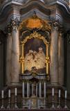 Church of St. Anne, altar detail