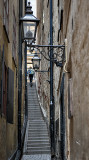 Narrowest street in Stockholm