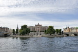 Helgeandsholmen island and Parliament