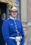 Nice guard at the Royal Palace