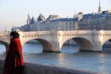 Paris,quai du Louvre.
