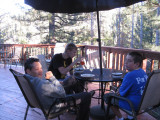 More patio diners