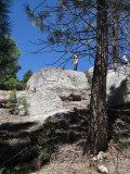 Diana on the rocks