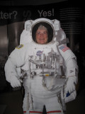 Me as an astronaut.  Isabelle was a better picture taker.