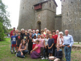 The whole group at Kastell Koch