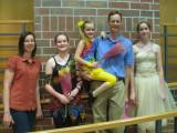 Dance recital family