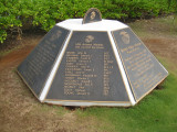 A Marine memorial