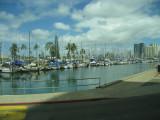 Marina near our hotel